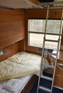 Slaapplaats autoslaaptrein ©Treinreiswinkel