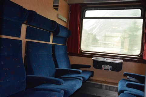 Zitrijtuig Alpen Express