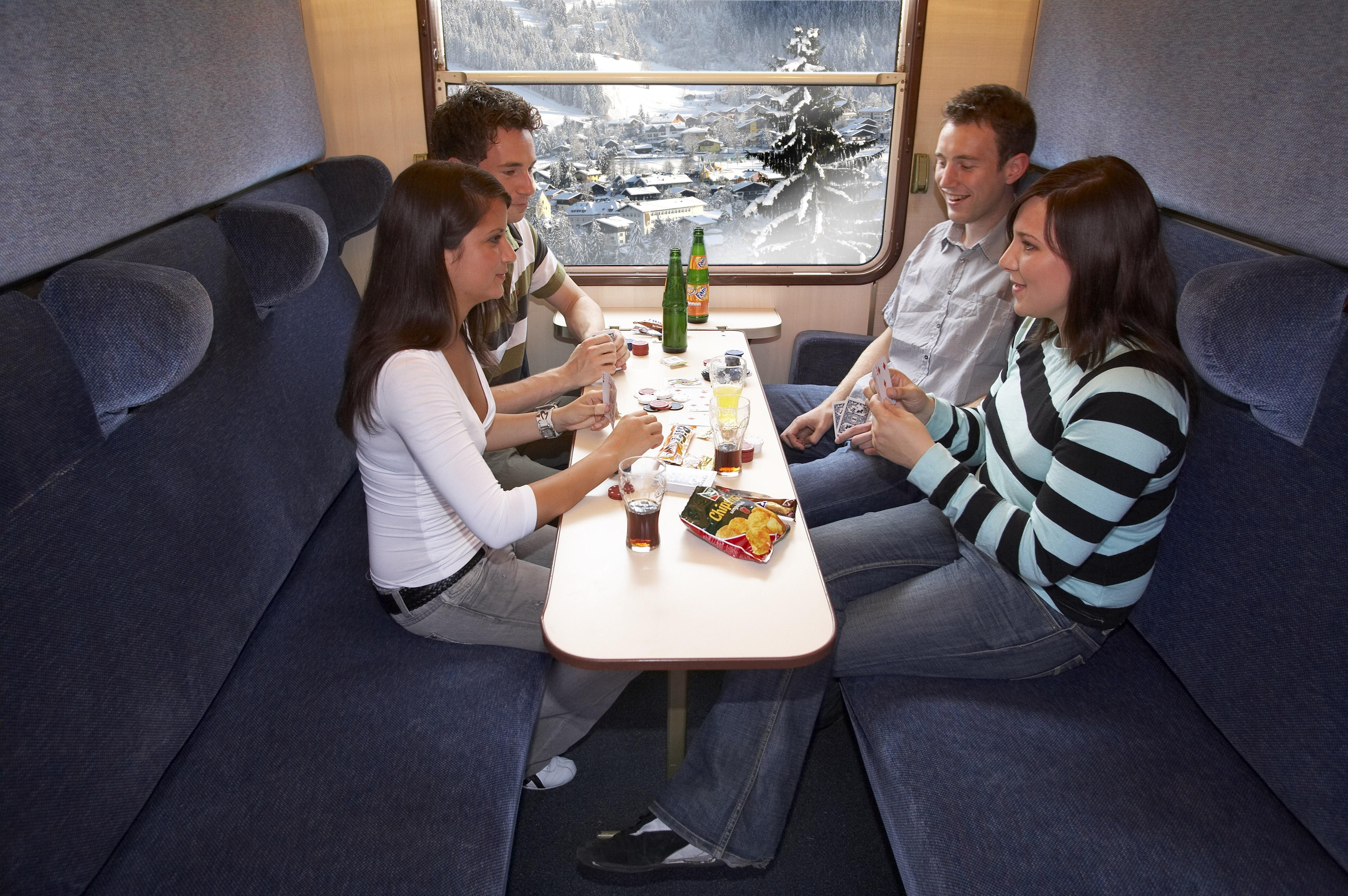 Couchetterijtuig Alpen Express