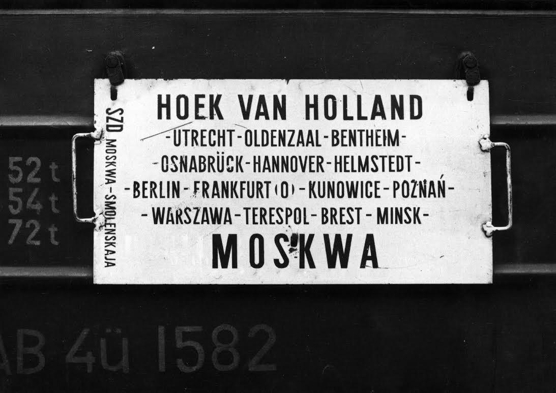 In de Nord West Express reed jarenlang een wagon mee van Hoek van Holland naar Moskou