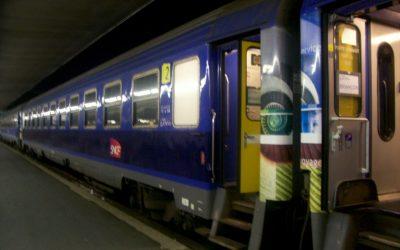 Nachttrein naar Perpignan en Portbou is gered