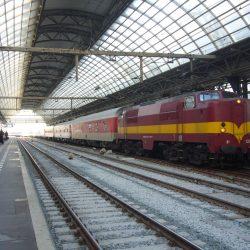 Binnenkomst nachttrein Kopenhagen, Warschau, Praag en Moskou - 5 december 2012 - Chris Engelsman