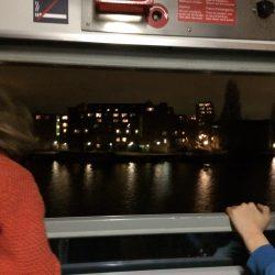 Vertrek uit Amsterdam - 18 november 2016 - Chris Engelsman