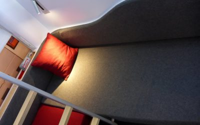 Ontwerp nieuw Nightjet interieur getest in Wenen