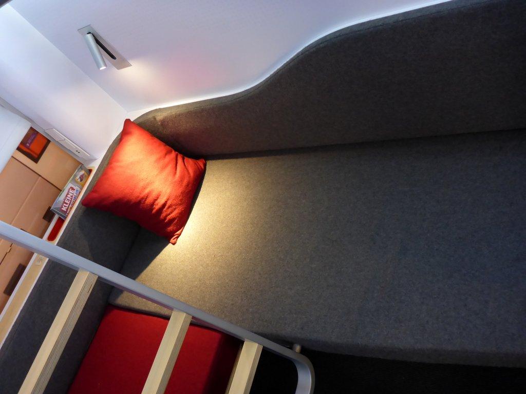 Model van ontwerp Nightjet interieur ©Daniel Kortschak