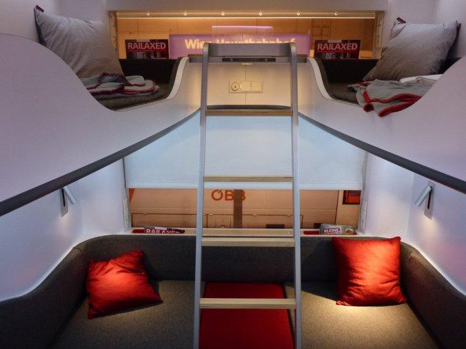 Ontwerp nieuw Nightjet interieur ©Daniel Kortschak