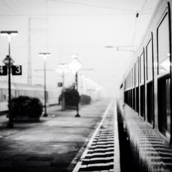 Laatste nachttrein naar Warschau in 2014 aan de grens - copyright Kleinhuisphoto