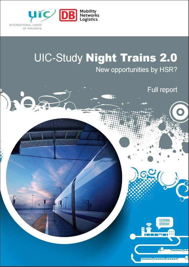Rapport Night Trains 2.0. Opgesteld in opdracht van DB voor de International Union of Railways