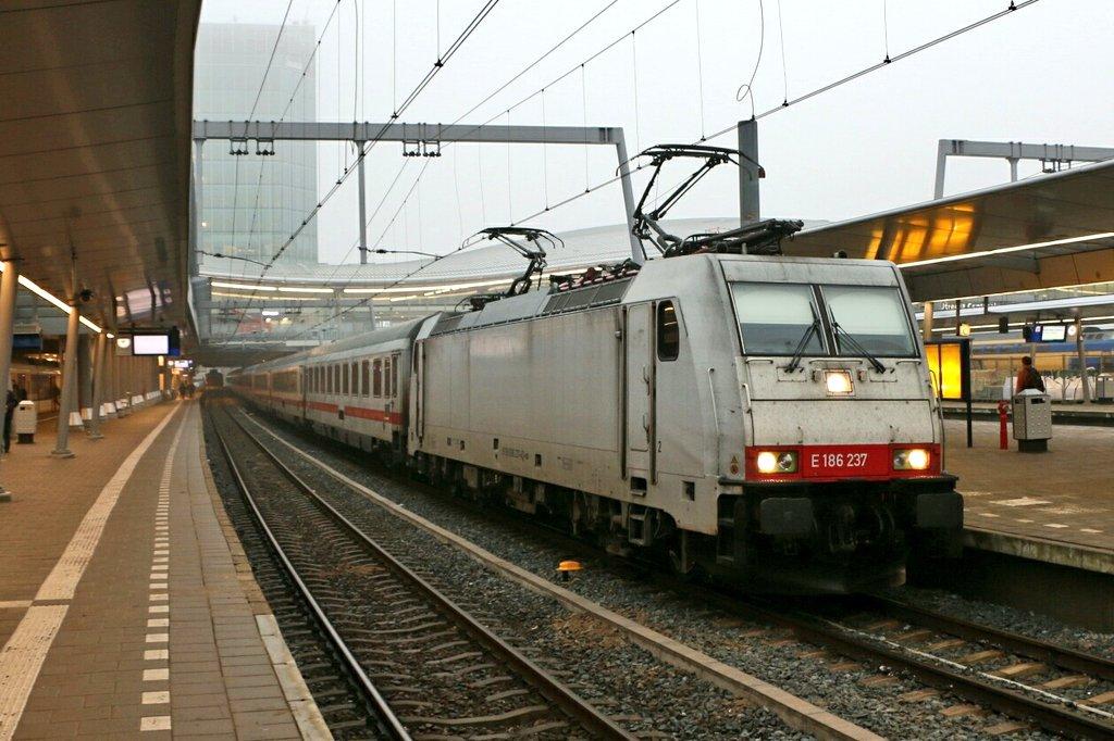 De laatste CityNightLine is uit Utrecht richting Amsterdam vertrokken ©Roel Hemkes