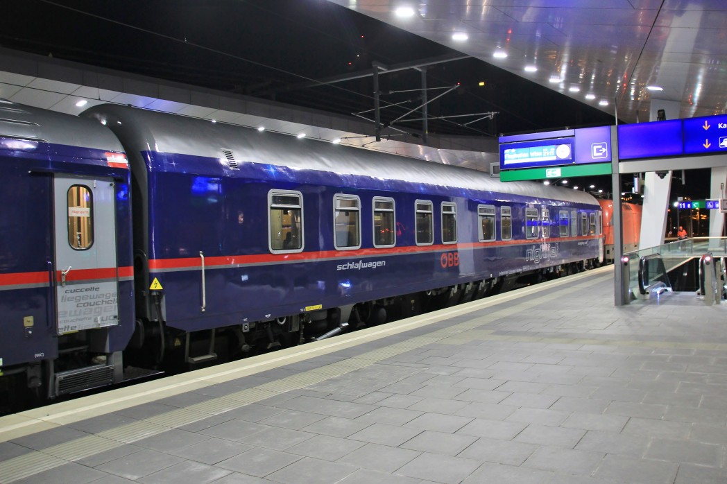 Nightjet slaapwagon van de Oostenrijkse spoorwegen ÖBB ©Provodnik/Drehscheibe