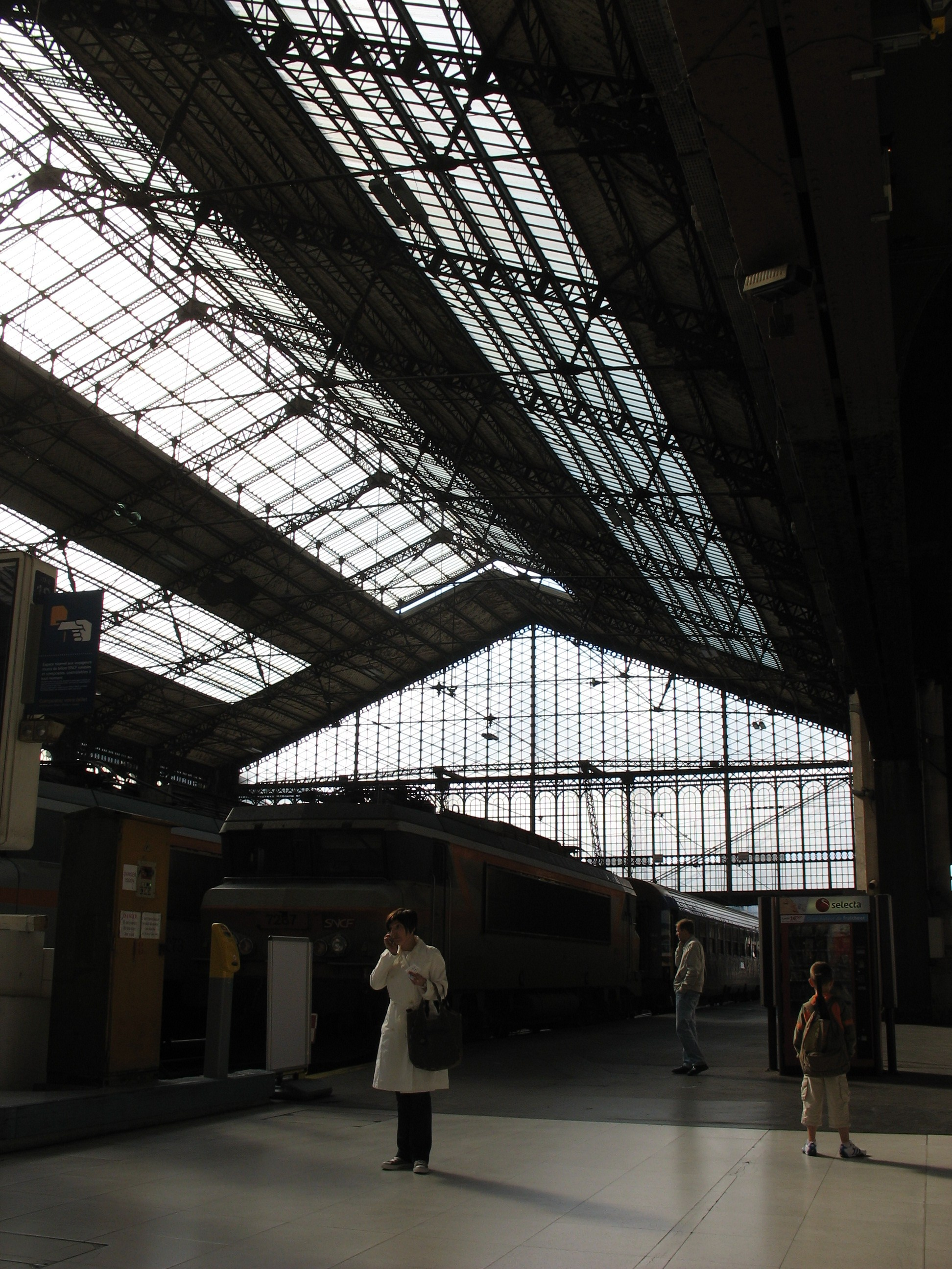 Vetrek uit Paris Gare d'Austerlitz ©nickfourtimes