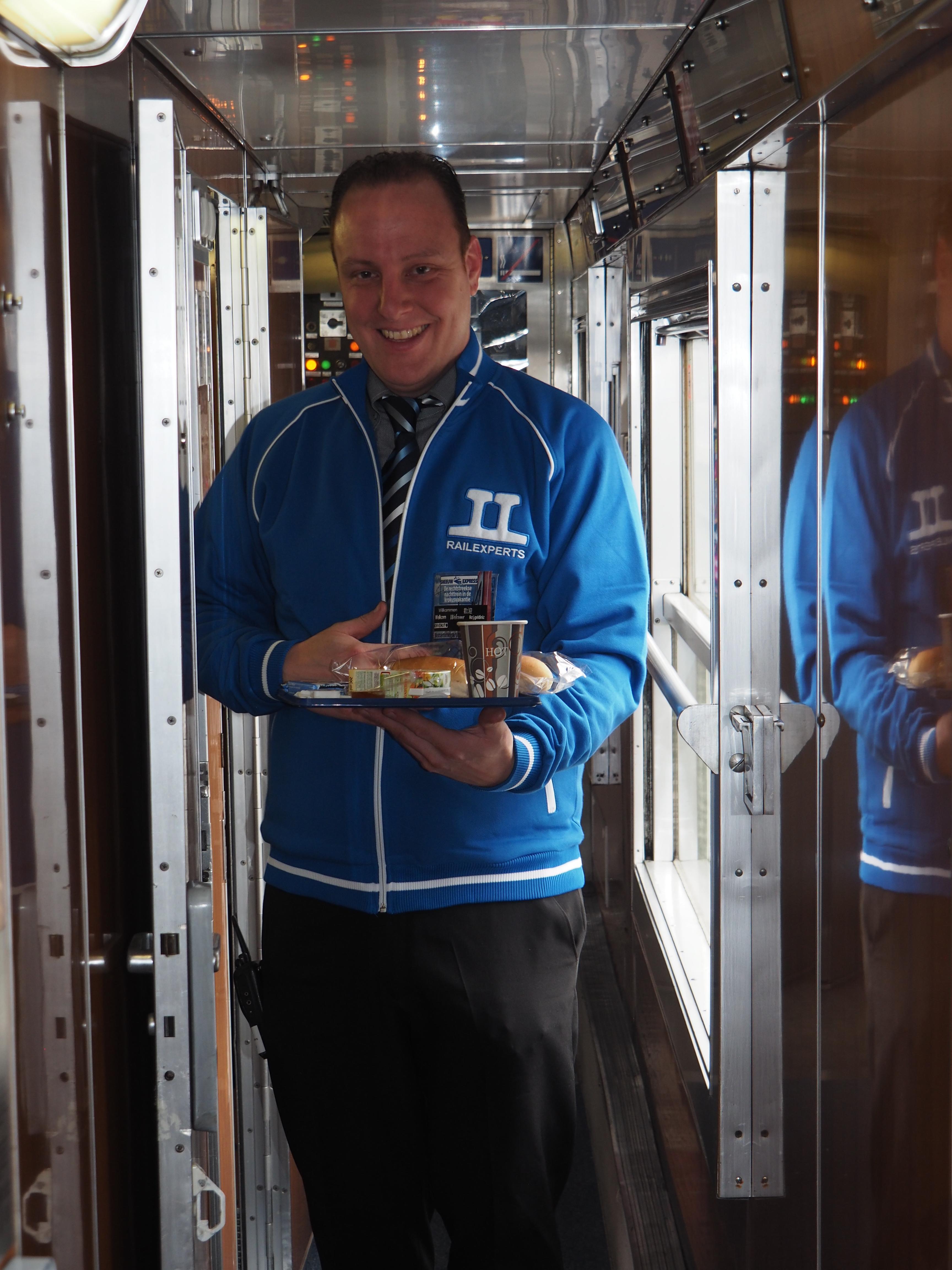 Ontbijt in de Alpen Express