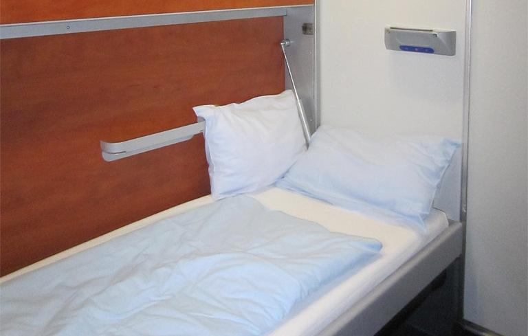 Slaapplaats in ÖBB Nightjet