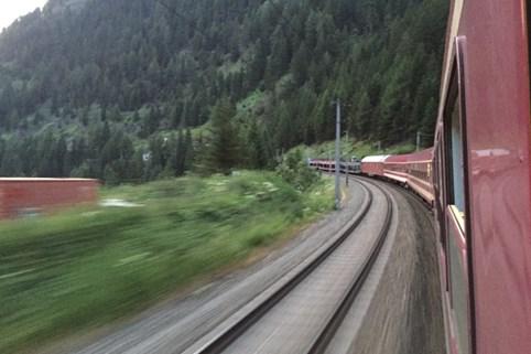 De autoslaaptrein naar Verona ©Treinreiswinkel
