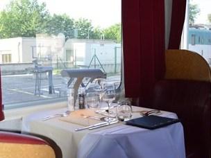 Restaurant in de autoslaaptrein naar Verona ©Treinreiswinkel