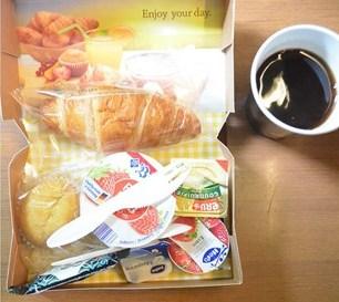 Het ontbijt in de autoslaaptrein ©Treinreiswinkel