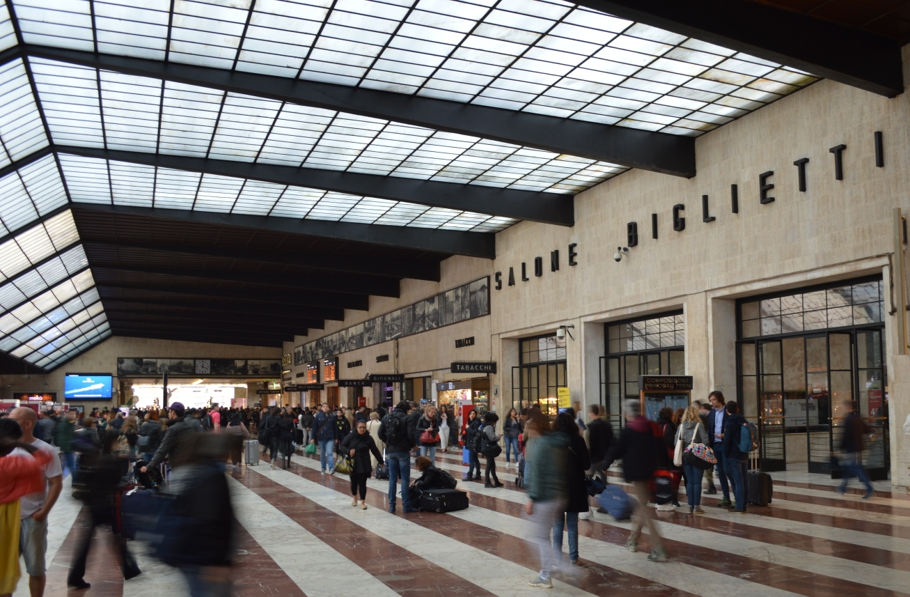 Santa Maria Novella station in Florence ©Noord West Express