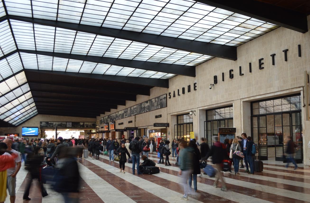 Santa Maria Novella station in Florence ©Noord West Express