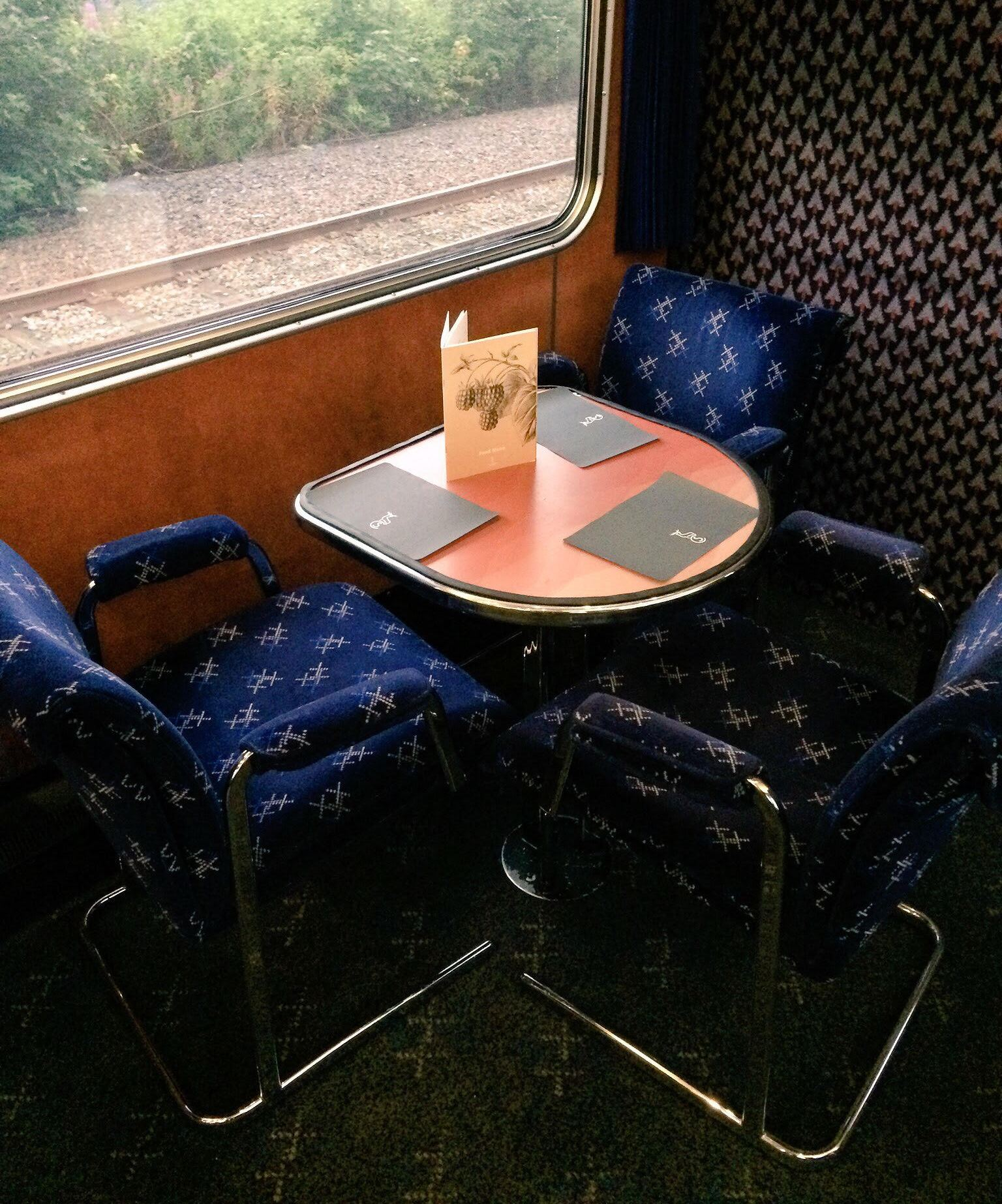 Restaurant van de Caledonian Sleeper ©Noord West Express