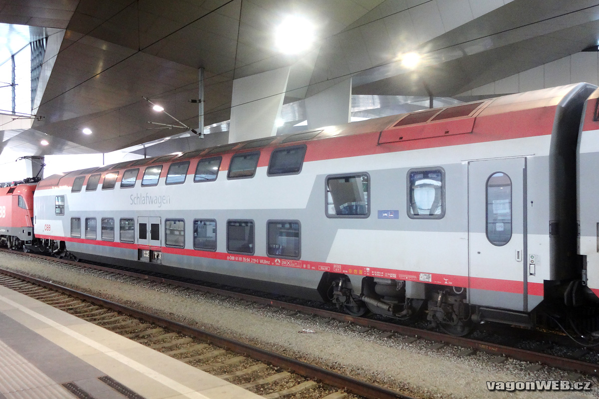 Dubbeldeks slaapwagen van de Oostenrijkse spoorwegen ÖBB ©Alfonso Marco Pérez