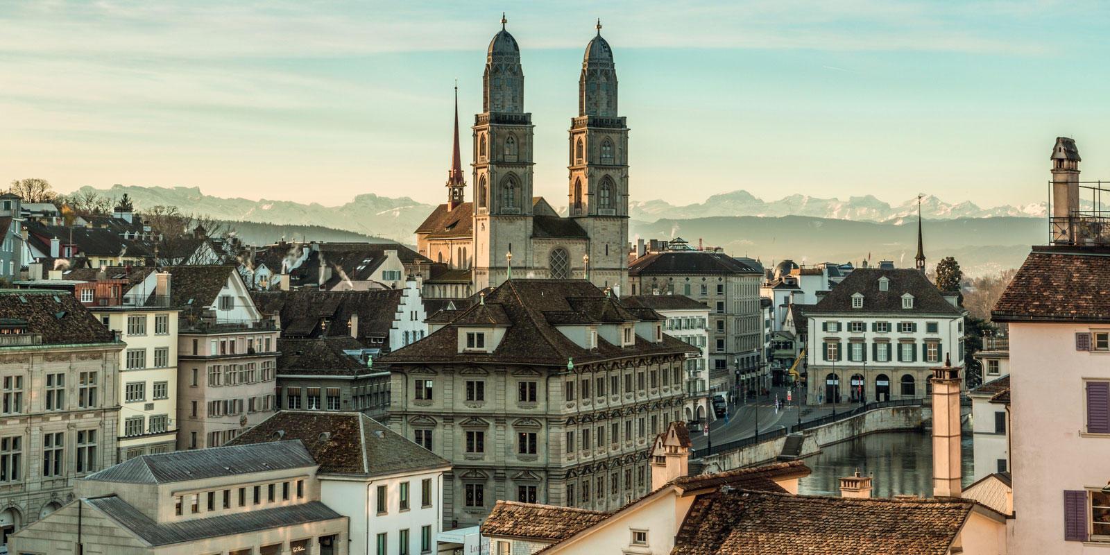 Zürich ©Zurich Tourism
