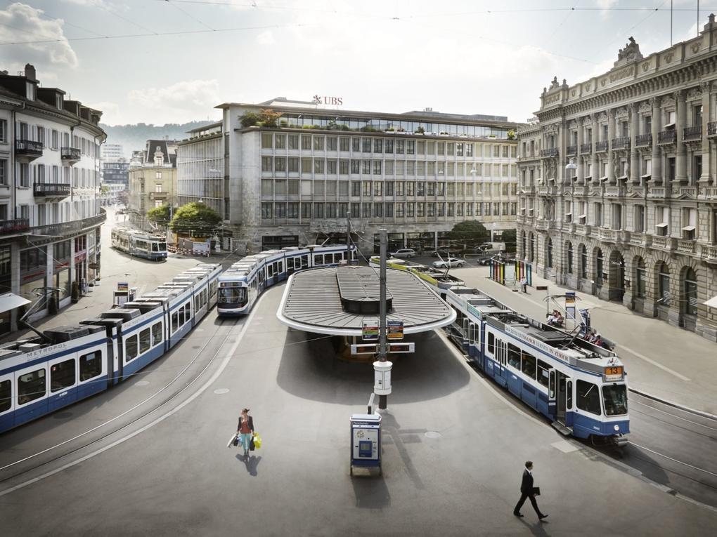 Zürich is een echte OV stad ©Zurich Tourism