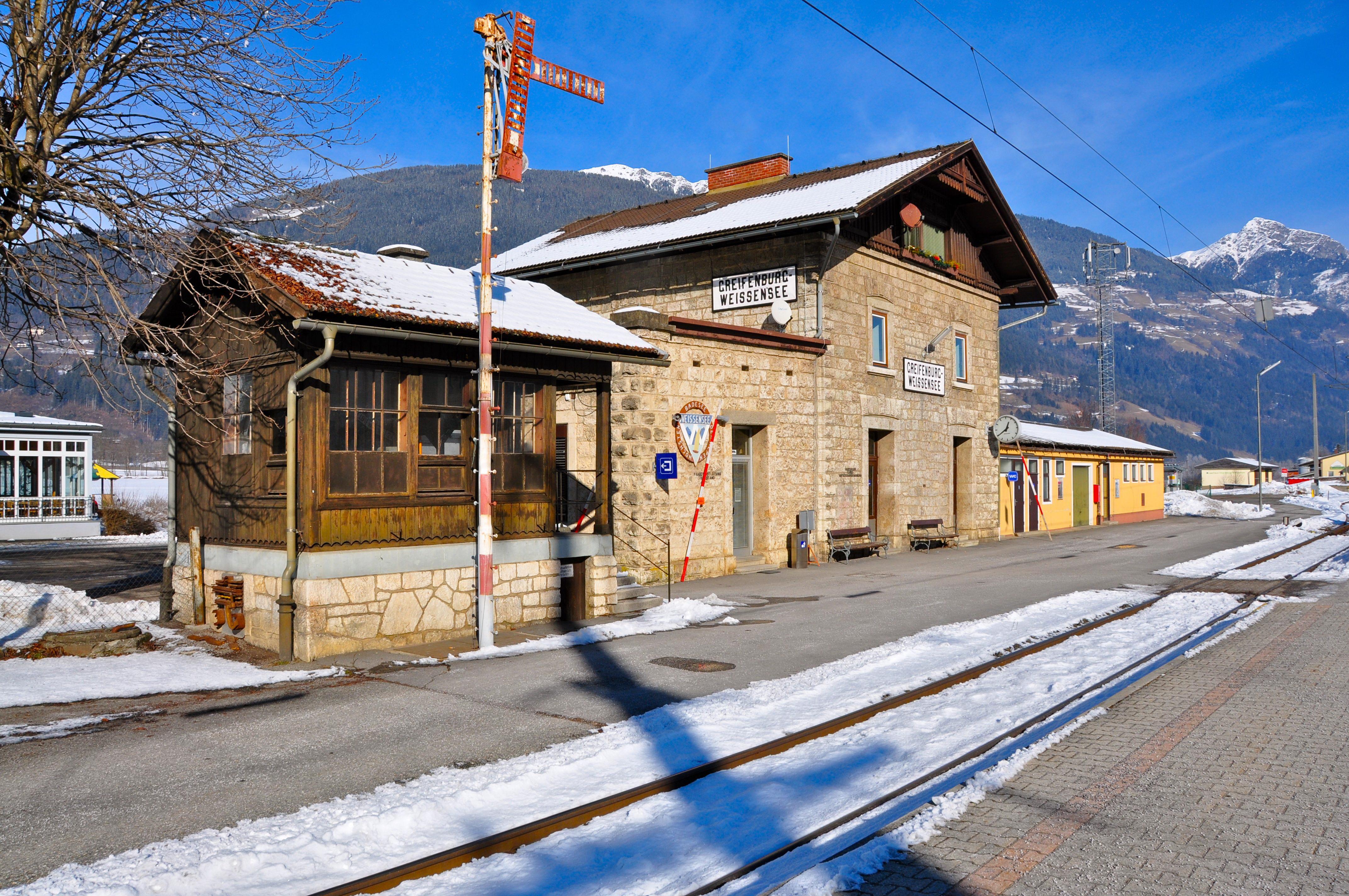 Het station Greifenburg-Weissensee ©Johan Jaritz