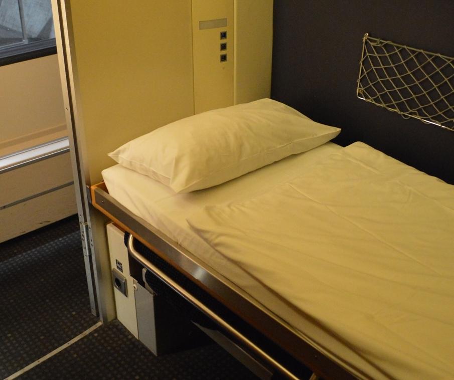 Slaapcoupé in de Nightjet ©Noord West Express