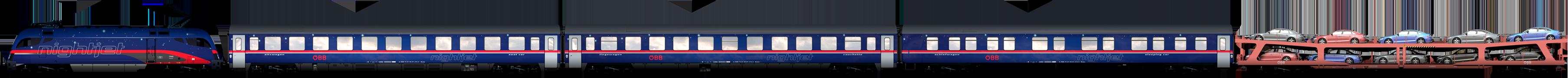 Nightjet zitplaatsen, ligplaatsen, slaapplaatsen, autowagong ©ÖBB