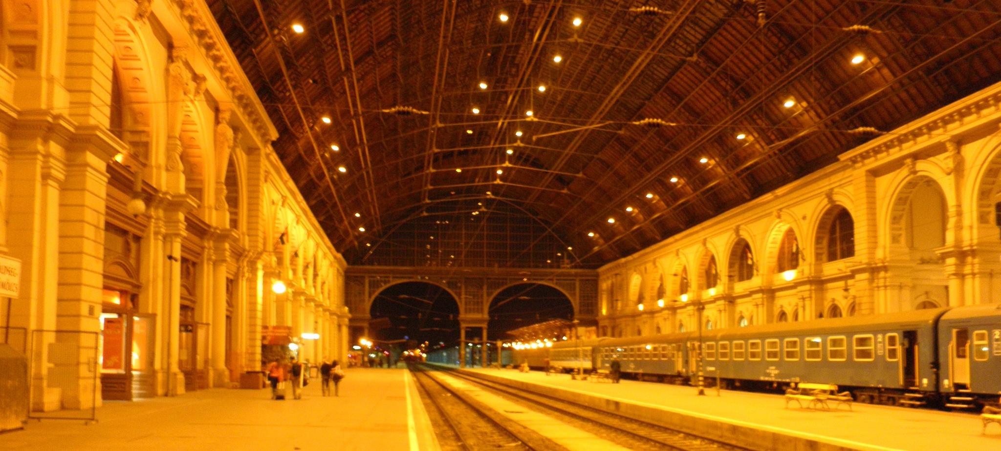 Het prachtige Budapest Keleti station ©Frantisek Trampota