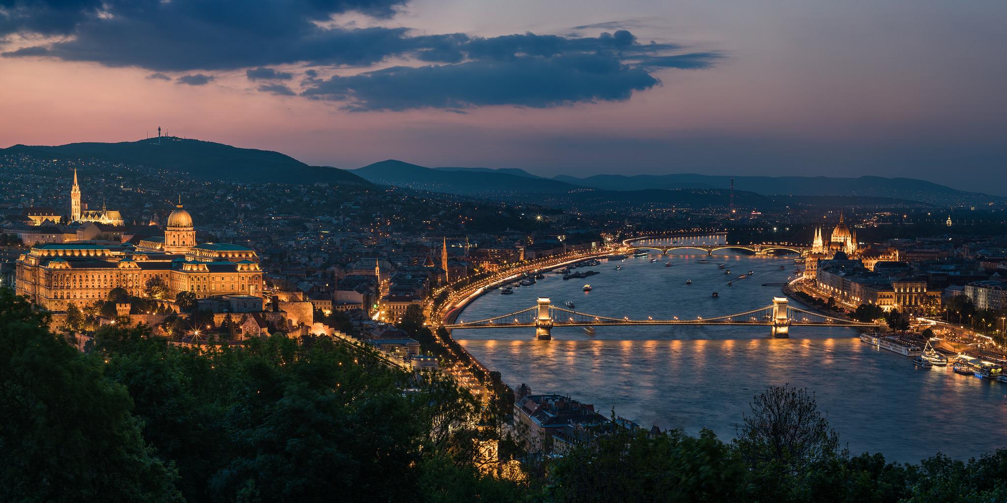 Nachttrein Budapest