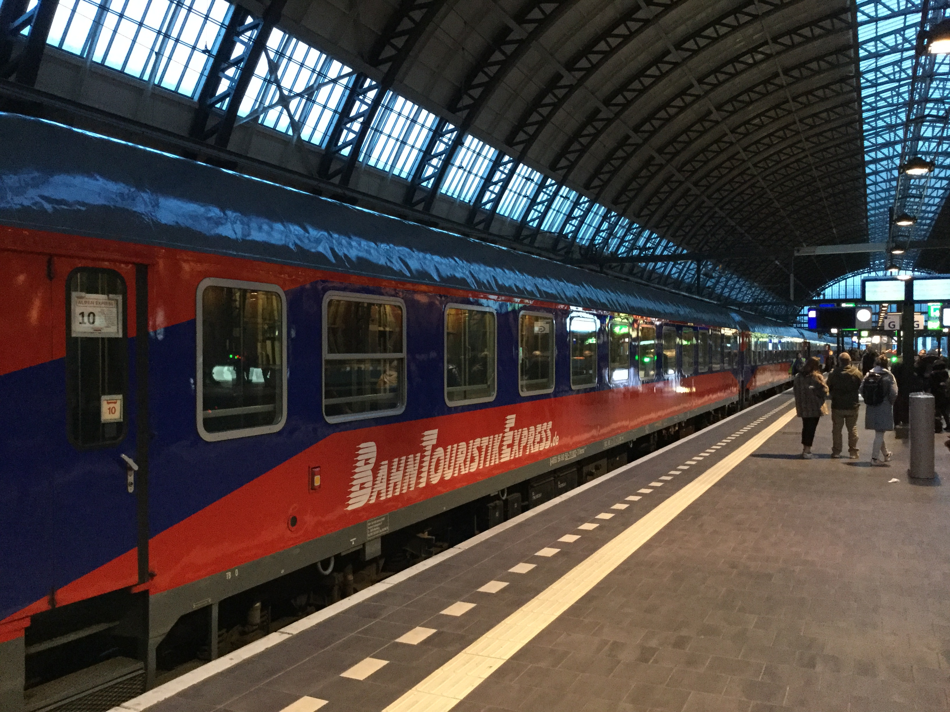 Alpen Express in Amsterdam ©Noord West Express