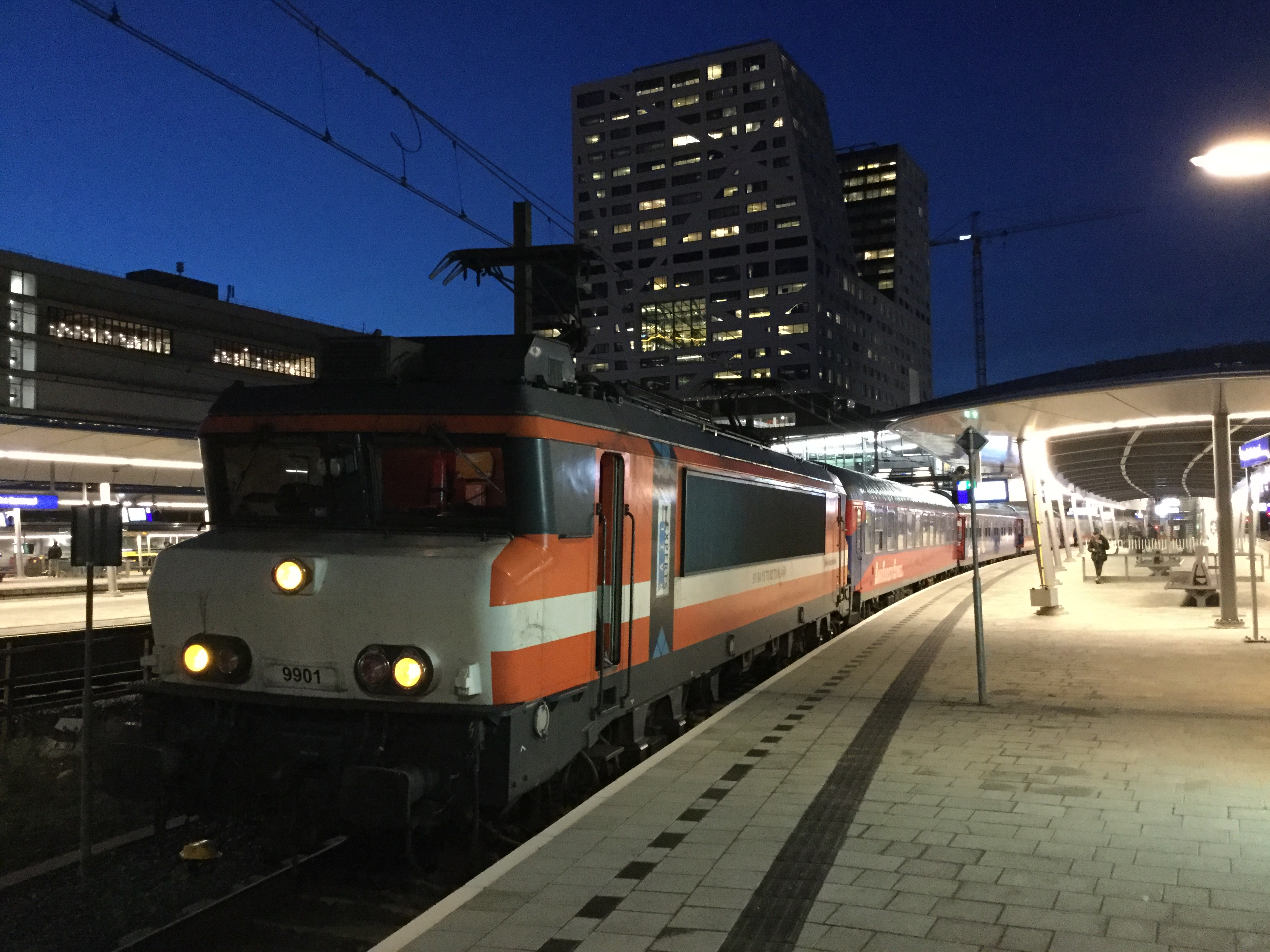 Alpen Express in Utrecht ©Noord West Express