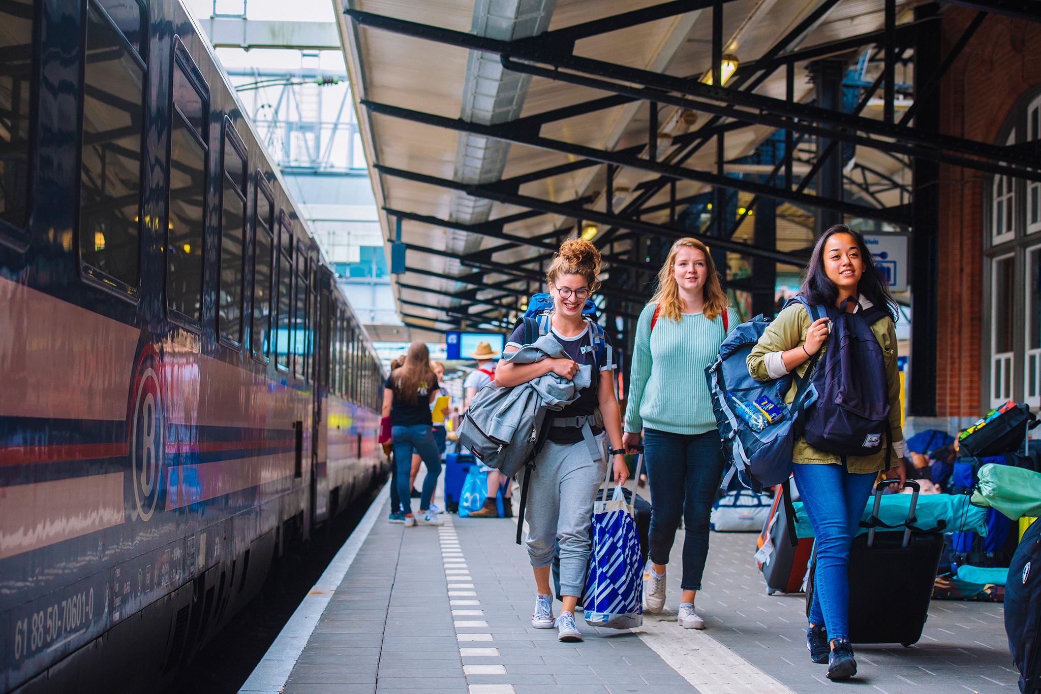 Sziget Express voor vertrek in Amersfoort ©Festival.Travel