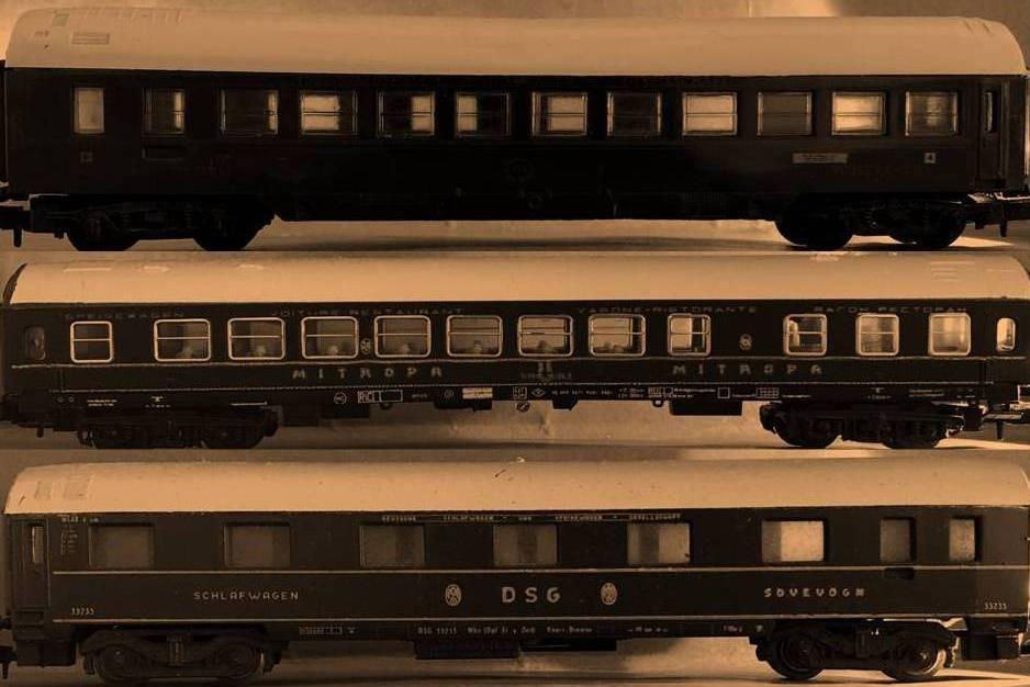 Nightjet netwerk en aansluitende treinen