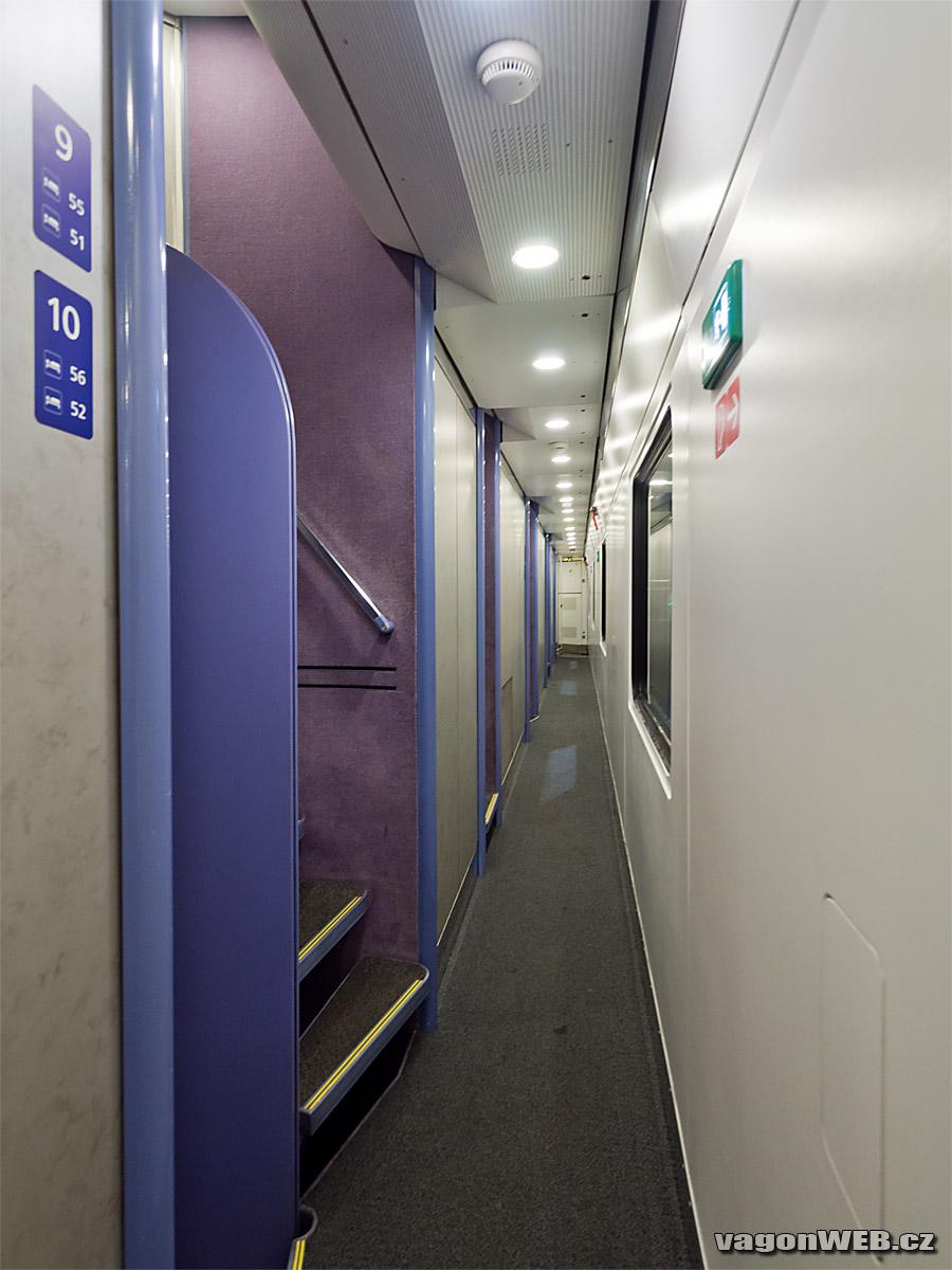 Interieur van een slaapwagon van de Nightjet van de ÖBB ©Noord West Express